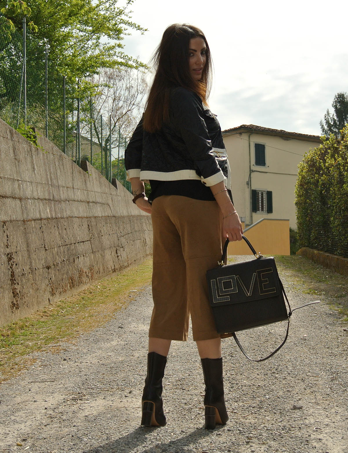 outfit culotte pants